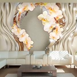 Fotótapéta Wreath of orchids