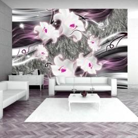 Fotótapéta Dance of charmed lilies
