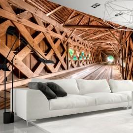 Fotótapéta Wooden Bridge