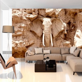 Fotótapéta Stone Elephant (South Africa)