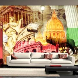 Fotótapéta Rome collage