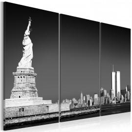 Kép Statue of Liberty in grey