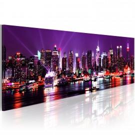 Kép Purple sky over New York