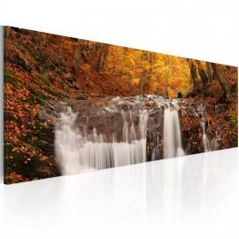 Kép Autumn and waterfall