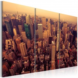 Kép Sunset over New York