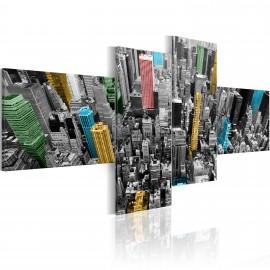 Kép New York in a surprising color arrangement