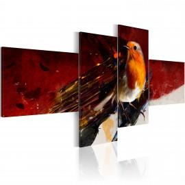 Kép A little bird on four parts