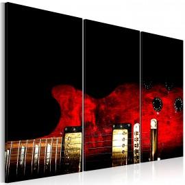 Kép Red guitar