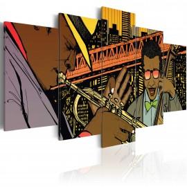 Kép Jazz in comic