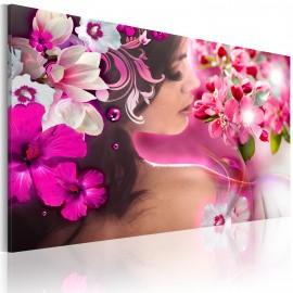 Kép Woman and flowers