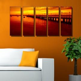 Vászonfotó saját fényképből - Quintet - 5db - 20x50cm
