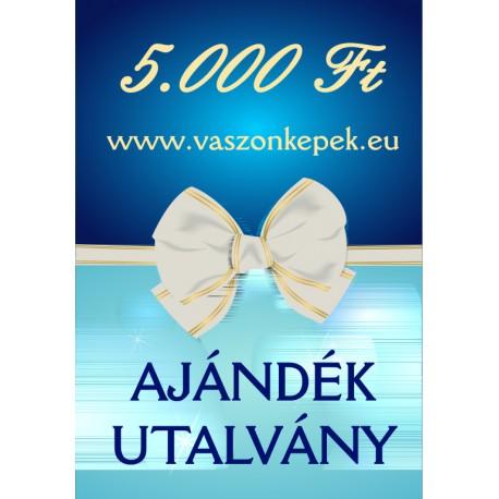 5000 Ft értékű - Ajándékutalvány