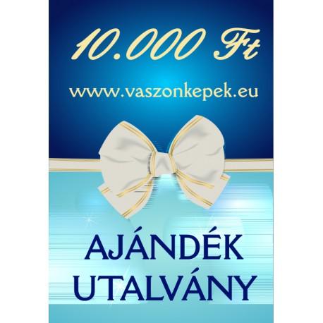 10.000 Ft értékű - Ajándékutalvány
