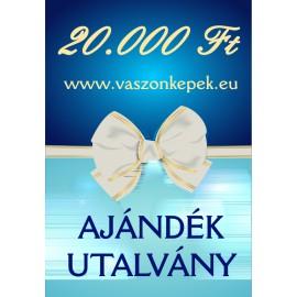 20.000 Ft értékű - Ajándékutalvány