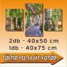 """Vászonkép - """"Trio"""" - 2db - 40x50cm és 1db - 40x75cm"""