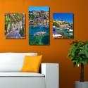Vászonfotó saját fényképből - Trio - 2db - 40x50cm és 1db - 40x75cm